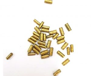 Dull Gold Beads 012
