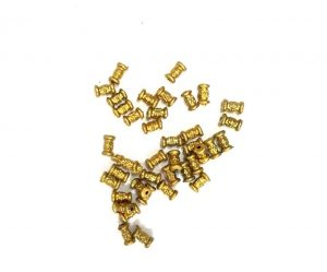 Dull Gold Beads 009